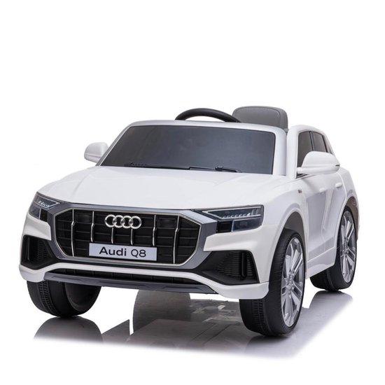 Audi q8 wit elektrische kinderauto 550x342