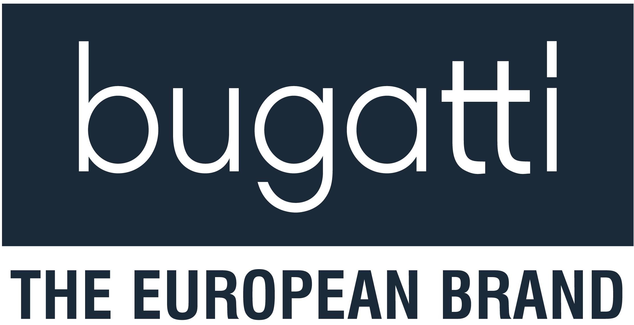 Bugatti the european brand logo