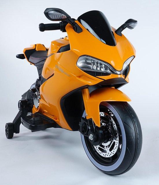 Diablo oranje elektrische kinder motor 550x639