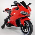 Diablo rood Elektrische kinder motor 550x615
