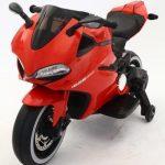 Diablo rood Elektrische kinder motor schuin voor 550x615