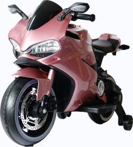 Diablo roze elektrische kinder motor 550x639