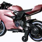 Diablo roze elektrische kinder motor zijkant 550x639