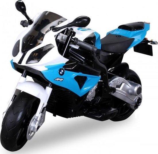 Elektrische kinder motor BMW S1000RR blauw wit 550x538