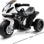 Elektrische kinder motor BMW S1000RR zwart wit 550x509