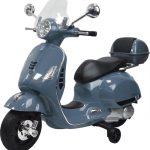 Grijs vespa kinder scooter vanaf 2 tot 4 jaar 550x571