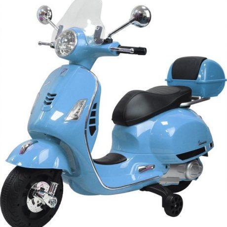 baby blauw vespa kinder scooter vanaf 2 tot 4 jaar 550x571