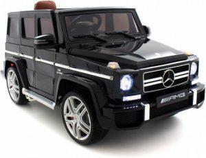 mercedes benz G63 AMG zwart zijkant 550x366
